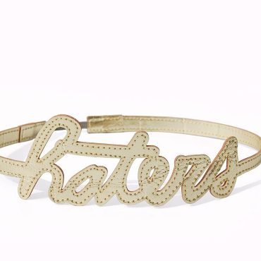 Haters Hairband Gold Hero