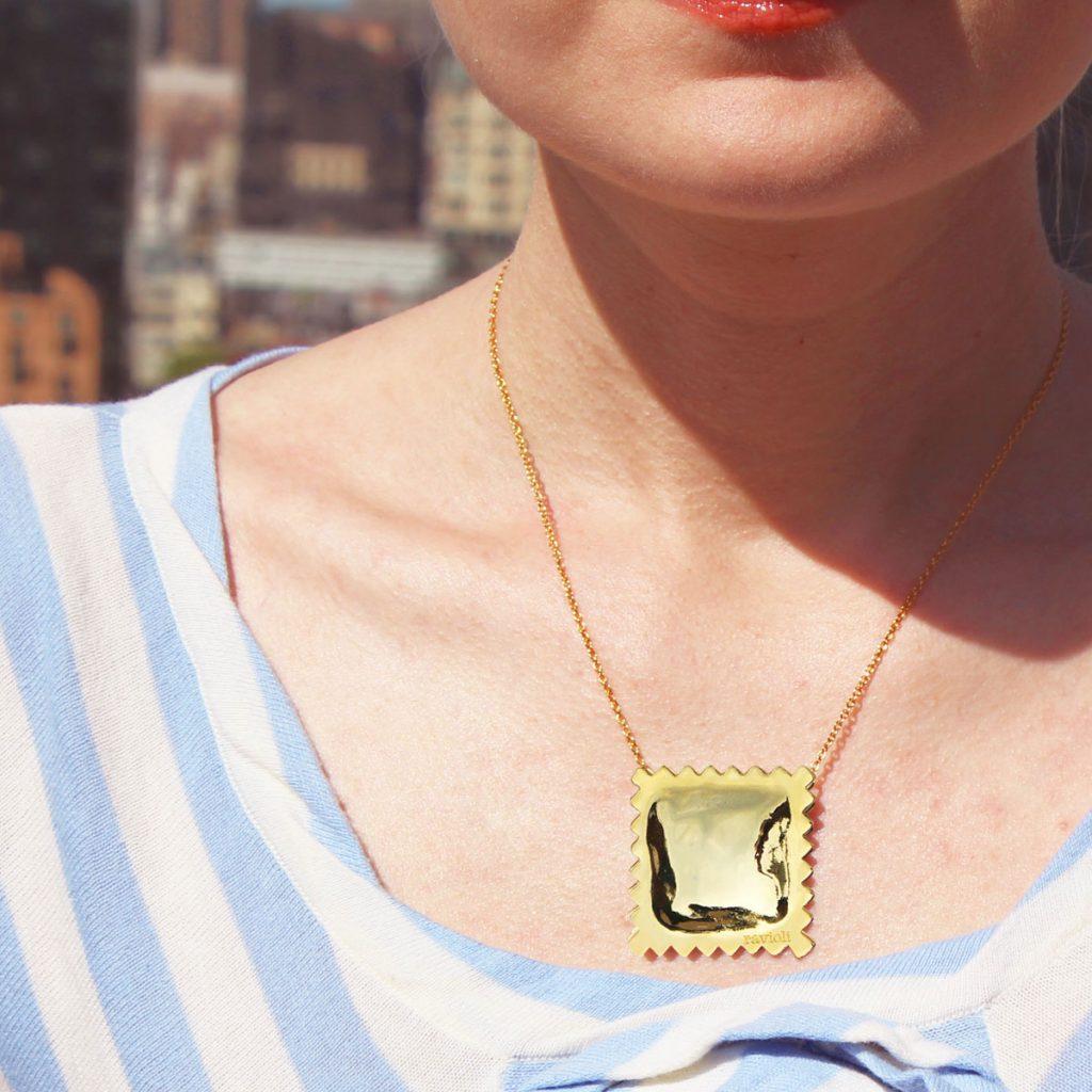 RAVIOLI PASTA Gloss Necklaces