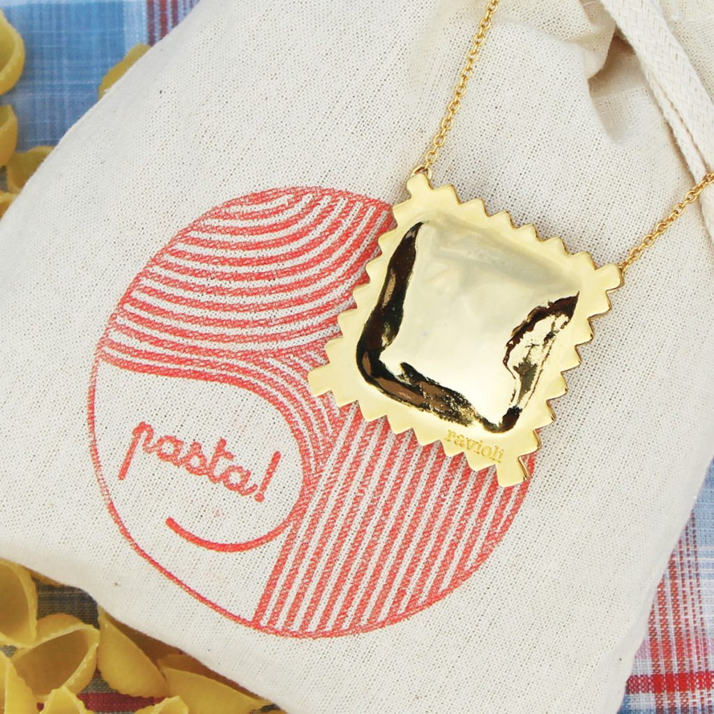 RAVIOLI PASTA Gloss Necklaces Package