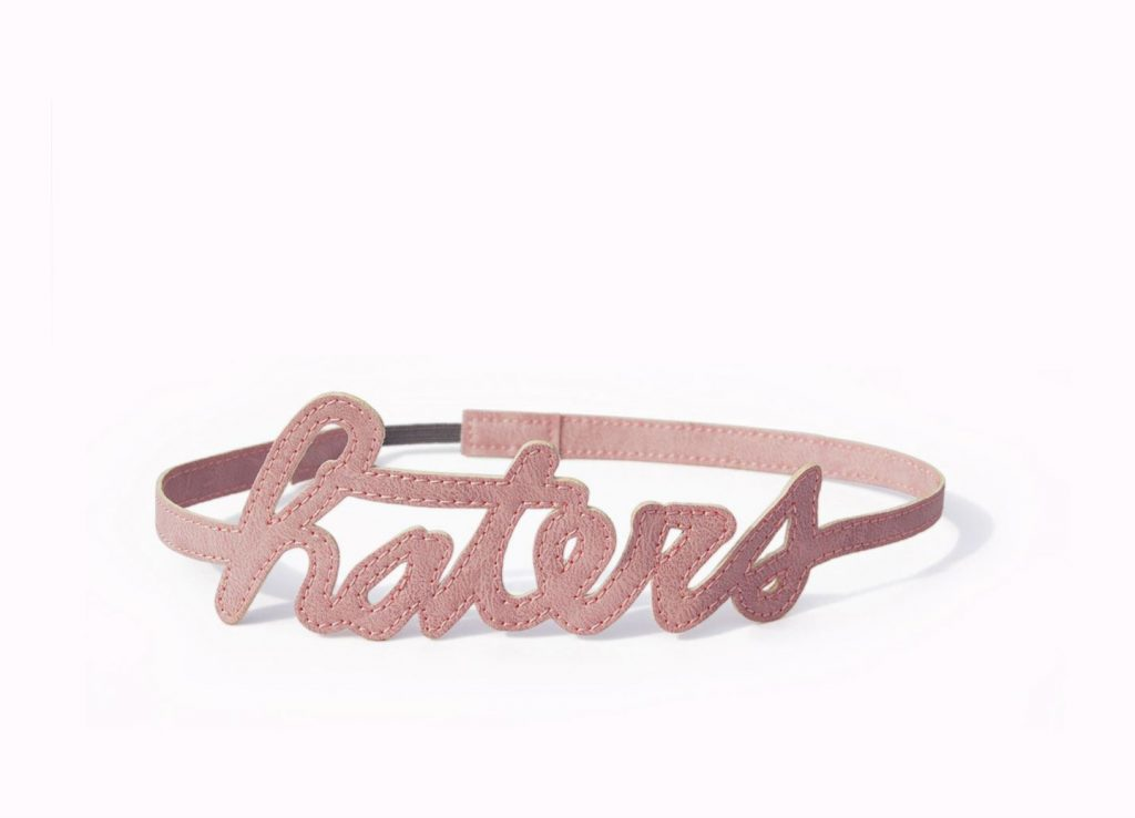 Haters Hairband Pink