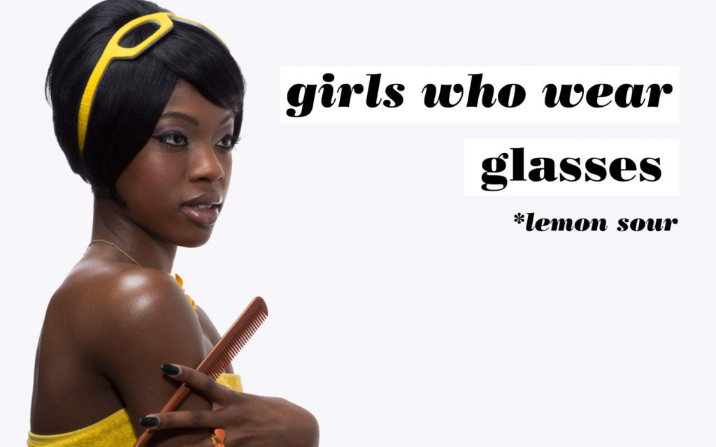 Girls Who Wear Glasses Hairbands Lemon Sour