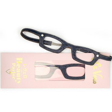 Girls Who Wear Glasses Hairbands Navy Ostrich Le Vero