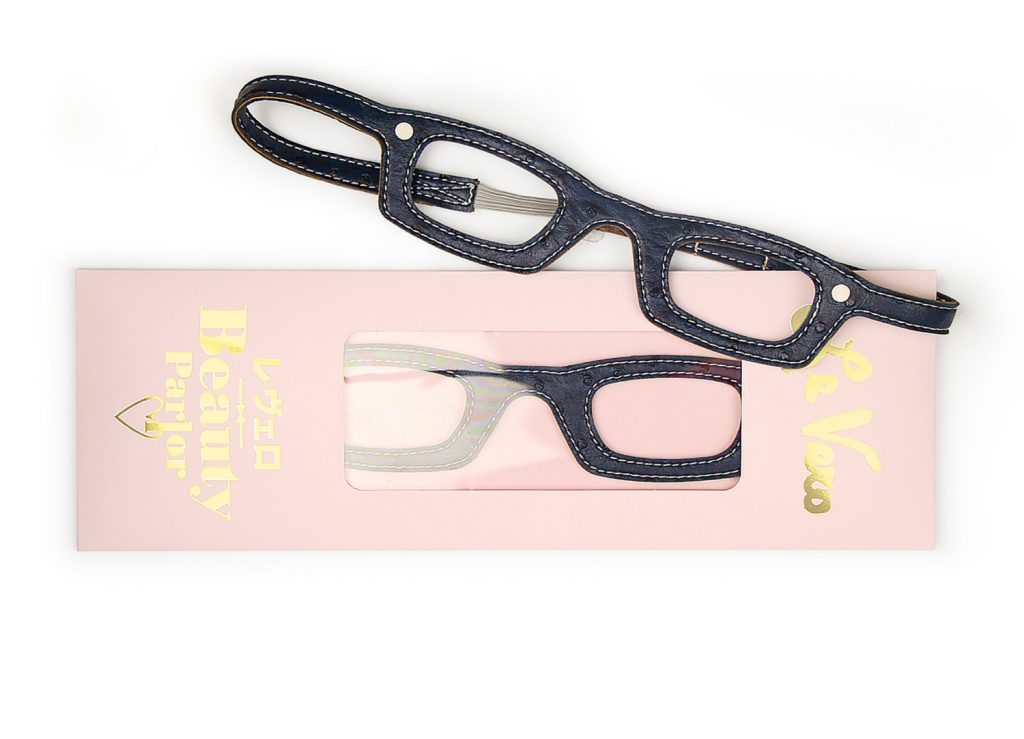 Girls Who Wear Glasses Hairbands Navy Ostrich
