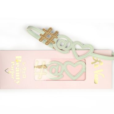 Hashtag Icon Hairband Baby Mint