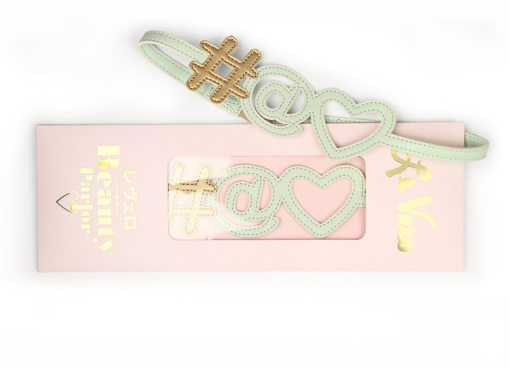 Hashtag Icon Hairband Baby Mint Card Package