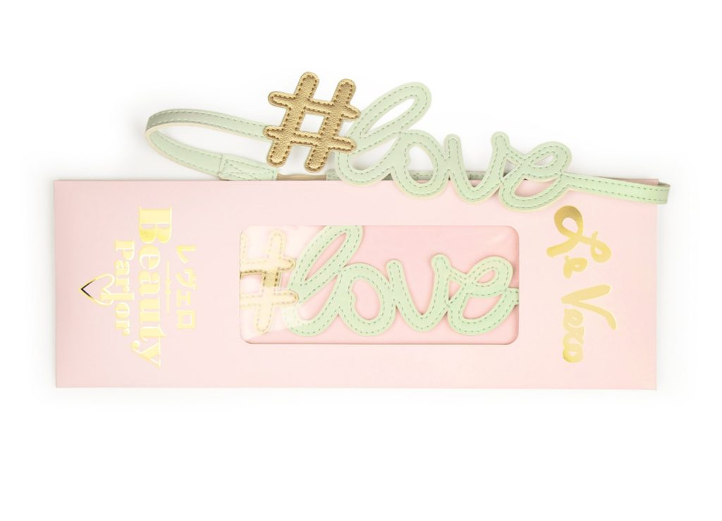 Hashtag Love Hairband Baby Mint Card Package