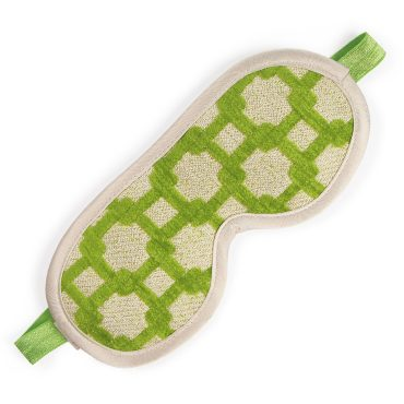 Private Patio Green Chenille Sleeping Mask Card Package